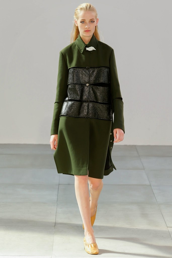 e41925a3c65 The Céline Spring 2015 Collection presented during Paris Fashion Week on  September 28