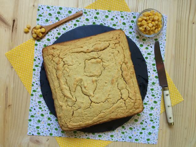 cornbread pan dulce de maíz receta