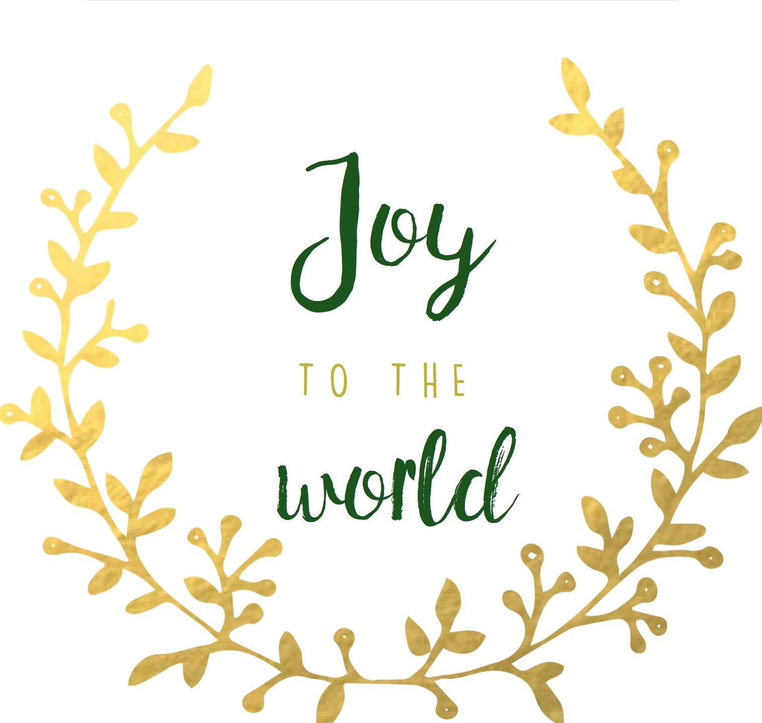 Joy to the World Free Printable // via @ahopefulhood