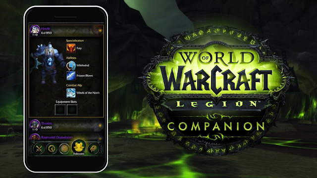 World of Warcraft: Legion is Getting a Cool, New Companion App
