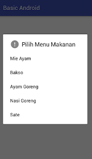 Screenshot_item dan icon example pada AlertDialog2