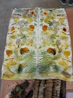 corso ecoprint ecoprinting corsi tintura naturale stampa vegetale