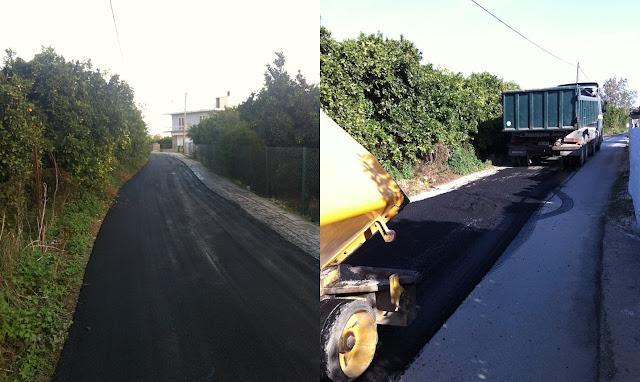 Έργα για την αποκατάσταση της οδοποιίας στο Δήμο Άργους Μυκηνών
