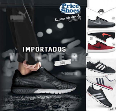 catalogo importados winter priceshoes 2016