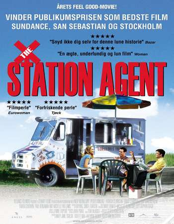Poster Of Poster Of The Station Agent 2003 English 300MB BRRip 480p ESubs Free Download Watch Online Worldfree4u