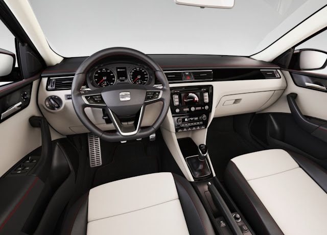 2018 Seat Toledo 1.2 TSI  interior Review