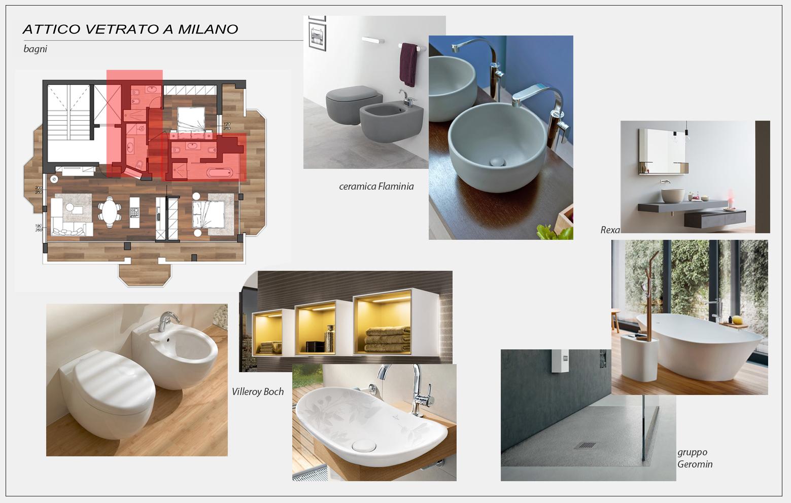 Arredamento e dintorni progetto arredamento attico for Arredamento attico