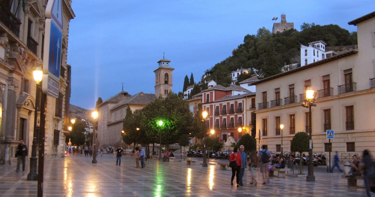 Rincones ibericos granada andaluc a espa a - Parking plaza puerta real en granada ...