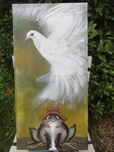 """Résultat de recherche d'images pour """"dessin la bave du crapaud n'atteint pas la blanche colombe"""""""