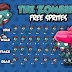 Free Sprite - 2D Game Platformer (Zombie)