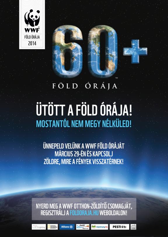 Föld Órája 2016 (2016.márc.19.) /20:30-21:30/