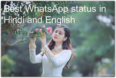 Best WhatsApp status in Hindi and English