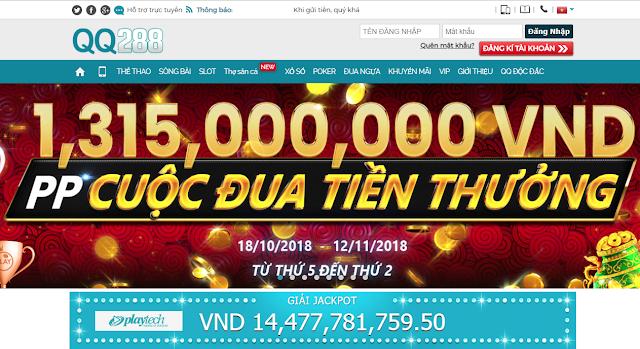 QQ288 tặng tiền cược miễn phí 100K thông quá kích hoạt SMS