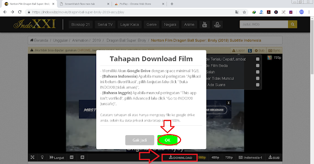 5 Langkah Cara Download Film di IndoXXI