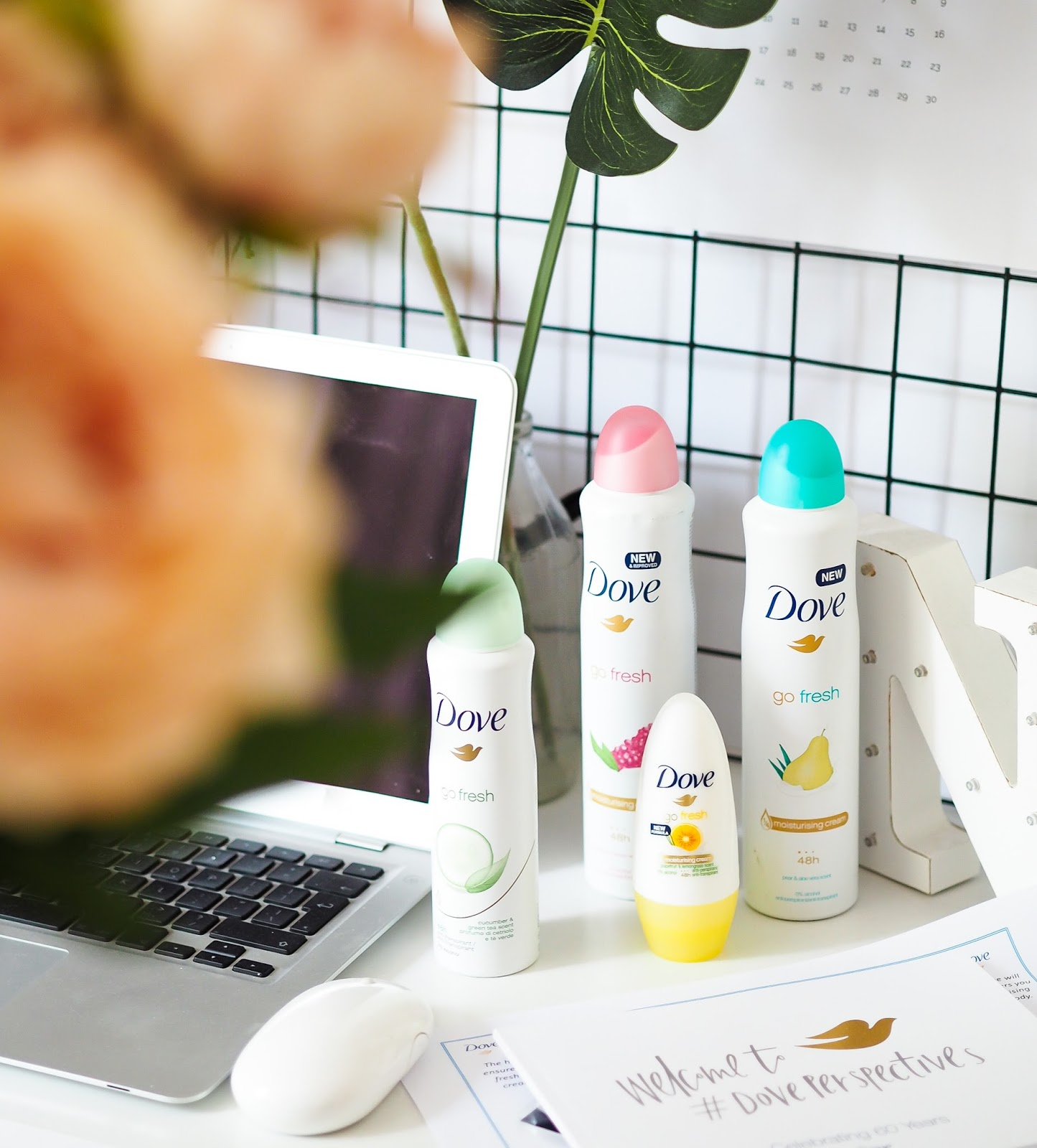 CARING FOR YOUR UNDERARMS WITH THE NEW DOVE ANTIPERSPIRANT RANGE