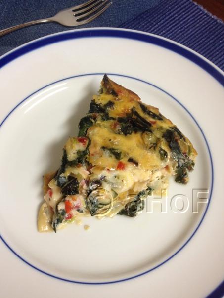 Beet Green and Artichoke Pie