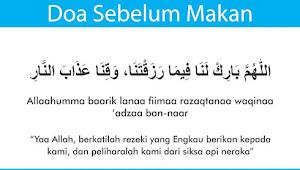 Doa Sebelum dan Sesudah Makan Bahasa Arab, Latin, dan Artinya