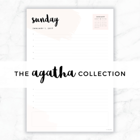 The Agatha Collection // Eliza Ellis