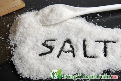 Cách chữa hôi miệng tại nhà bằng muối