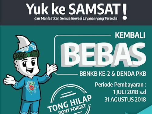 Bebas Balik nama dan Denda Samsat Jabar
