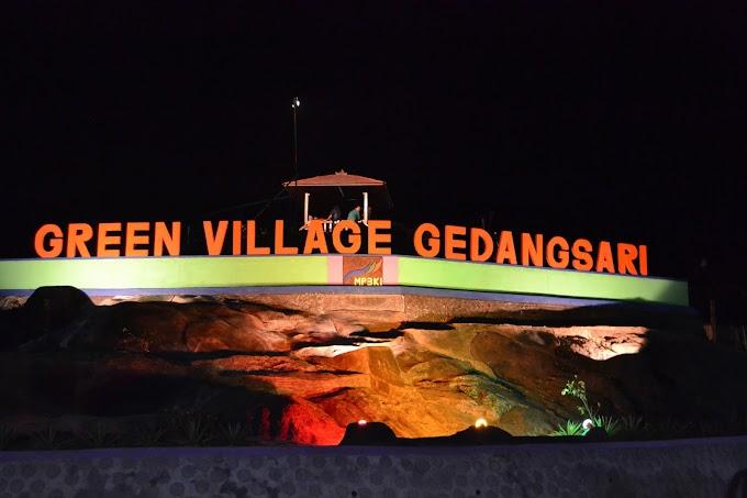 Panorama Alam di Green Village Gedangsari