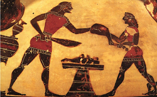 Κοκορέτσι έτρωγαν οι Αρχαίοι Έλληνες από τα χρόνια του Ομήρου και το ονόμαζαν «πλεκτή»