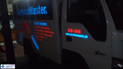 Vehicle Reflective Stickers - Service Master
