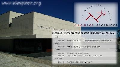 Junta de Castilla y León, presenta el calendario de Circuitos Escénicos 2017