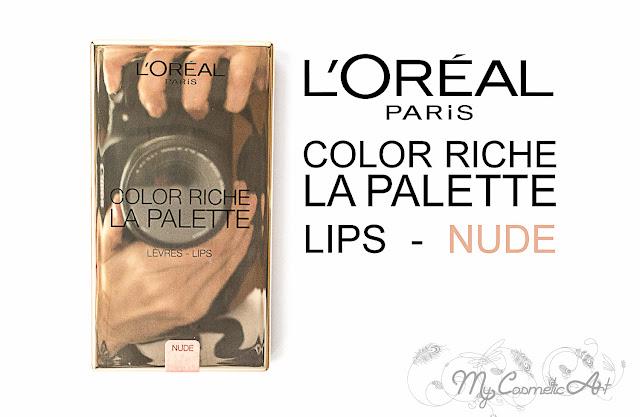 La Palette de Color Riche de L'Oreal: paleta de labiales para llevar a todas partes.