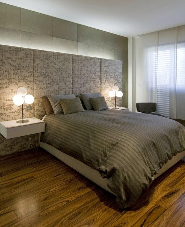 Habitación paredes elegantes
