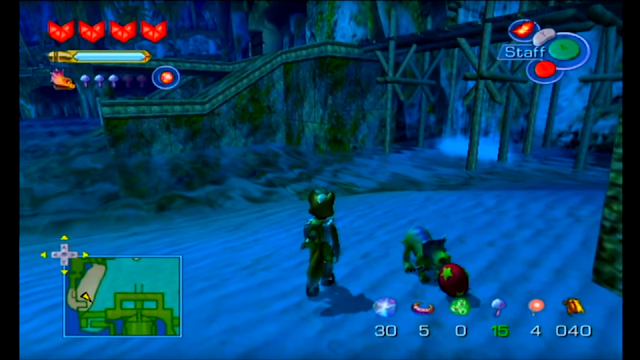 Star Fox Adventures Tricky fetch play ball