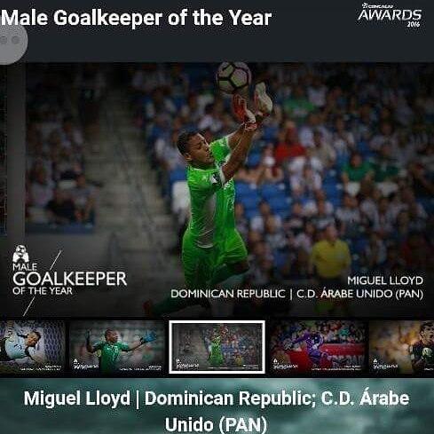 Miguel Lloyd nominado al portero del año en la Concacaf
