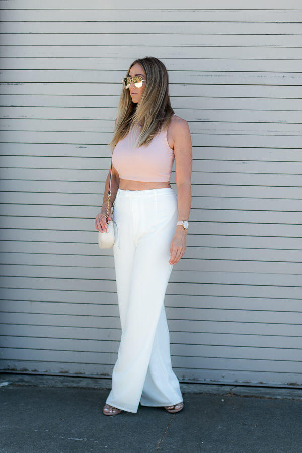 white trousers for summer parlor girl