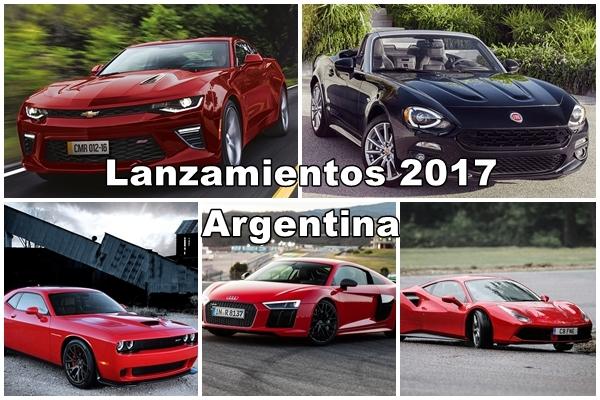 Lanzamientos Argentina 2017