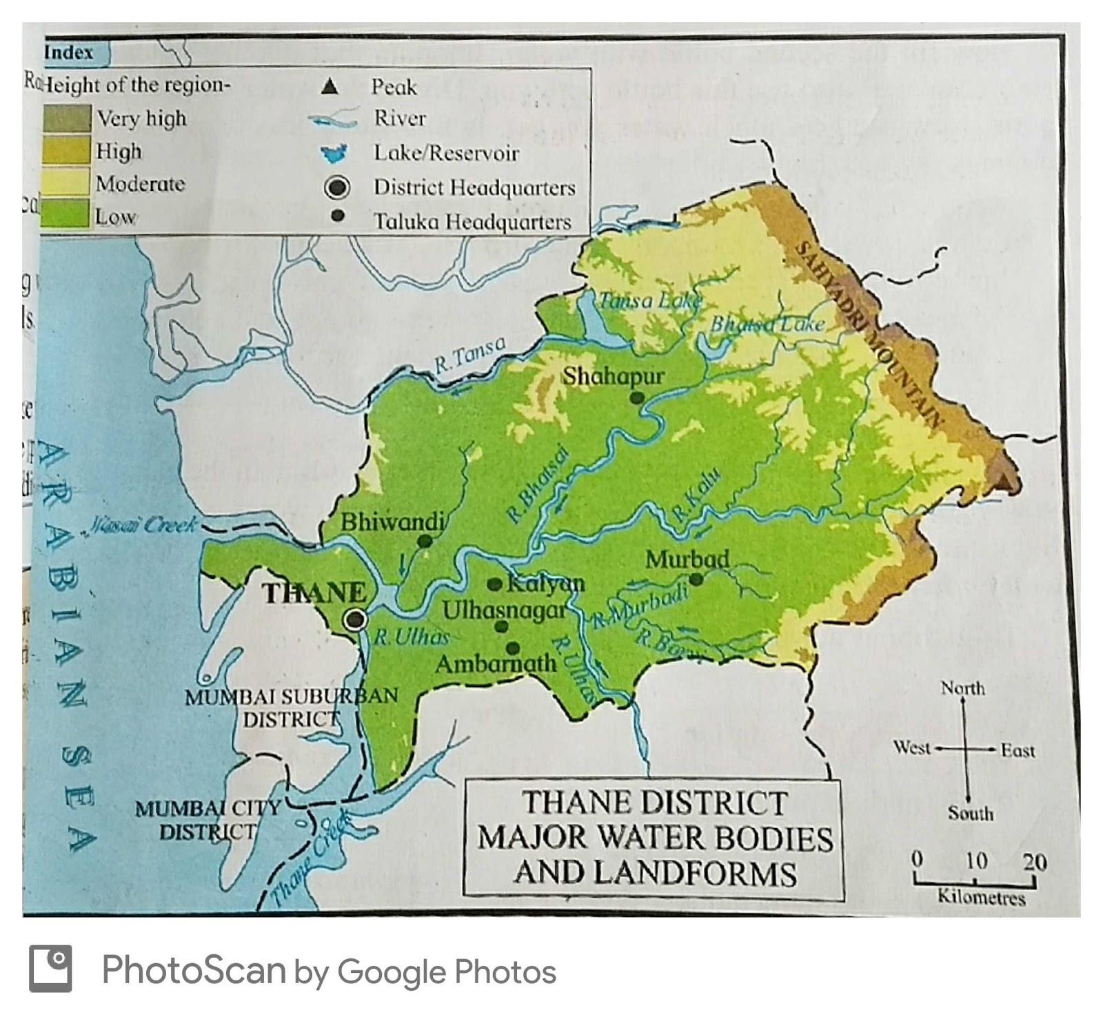 Worksheets Landforms And Bodies Of Water Worksheet evs worksheets chapter 9