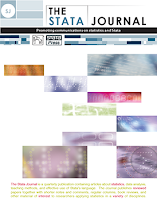 Image of the STATA Journal front cover