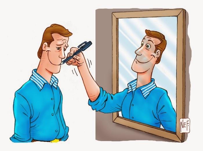 A casa dos mil espelhos... (Anônimo) | - TERRA BOA -