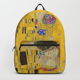 the kiss Klimt backpack