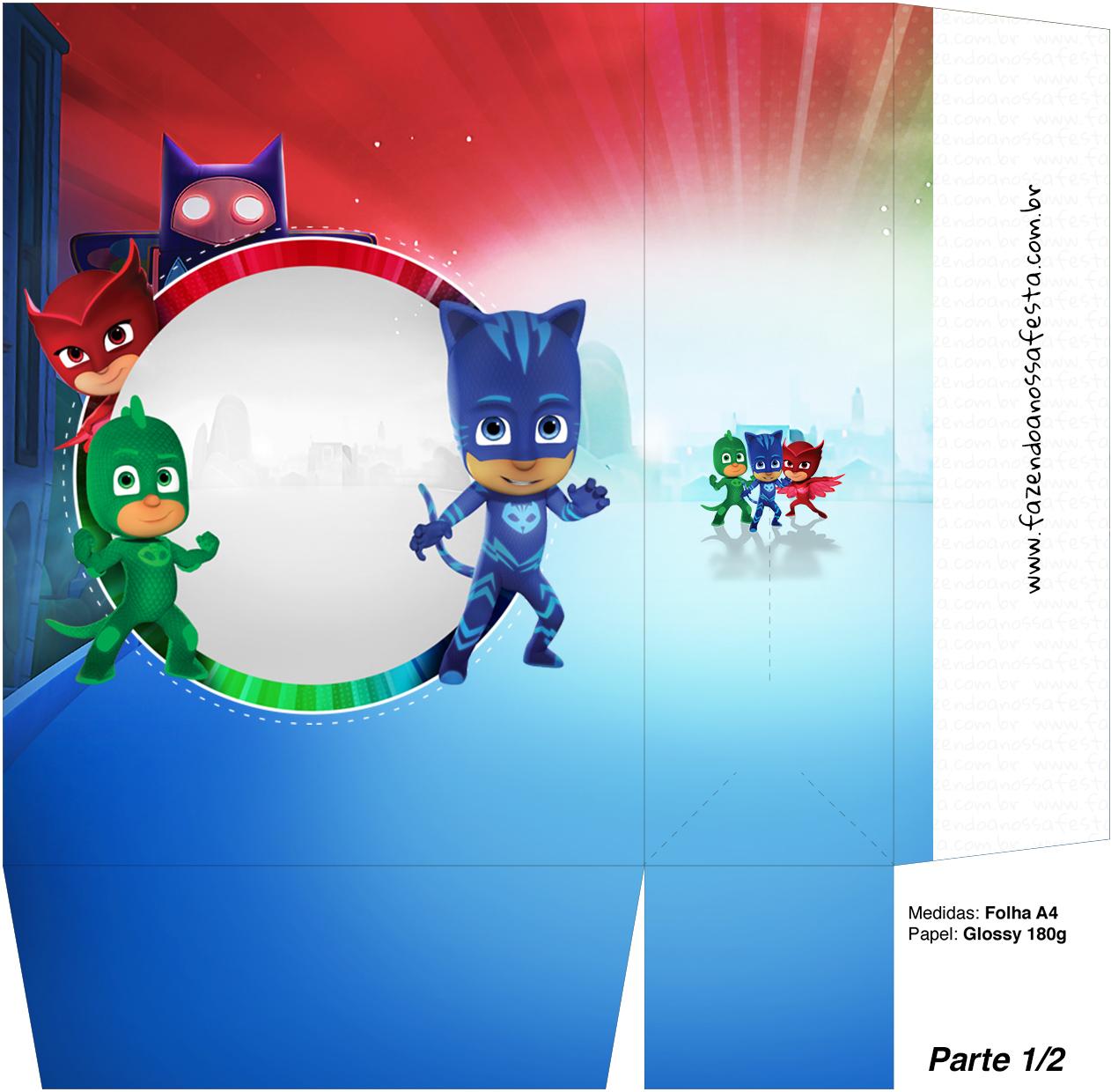 Super Heroes En Pijamas Cajas Para Imprimir Gratis Ideas Y