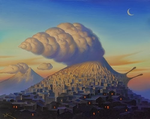 14-Perpetual-Revival-Vladimir-Kush-Surreal-Lands-Paintings-www-designstack-co