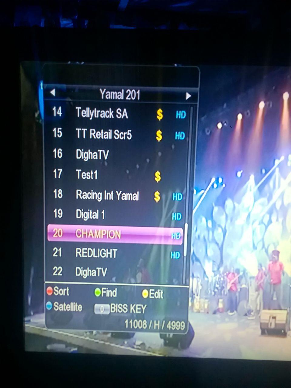 Champion tv transponder