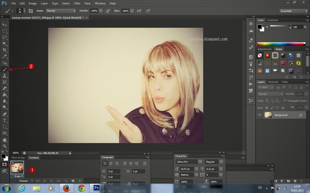Cambiare colore ai capelli con photoshop wanesia - Cambiare colore ai mobili ...