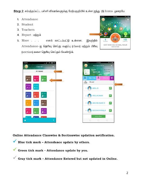 Attendance App TNSchools