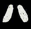 カタカナのペンキ文字「ハ」