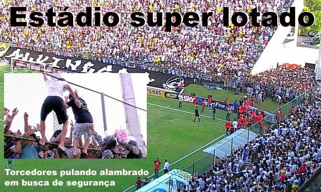 Palmeiras perde e estádio super lotado quase provoca tragédia ... 4fdf5da9707b9