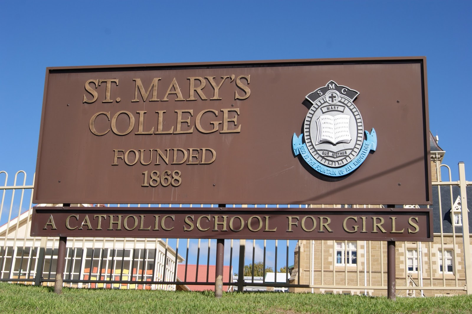 On The Convict Trail: St Mary's College, Hobart
