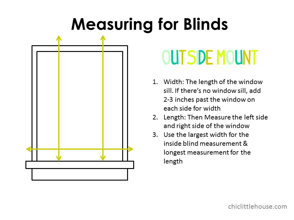 How to measure window for blinds 2017 grasscloth wallpaper - Measure exterior window shutters ...