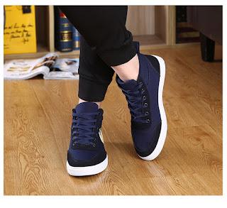 Sepatu Keren Pria Model Korea Terbaru Juni 2016