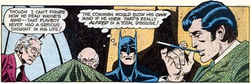 World's Finest #218, Alfred the Butler - master of disguise