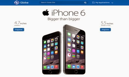 Globe now opens pre-registration for iPhone 6! | Steps on how to pre-order iPhone 6 and 6 Plus via Globe Telecom PH